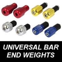 Universal Motorcycle Bar End Weights