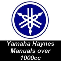 Haynes Manuals for Yamaha Motorcycles over 1000cc