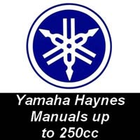 Haynes Manuals for Yamaha Motorcycles up to 250cc