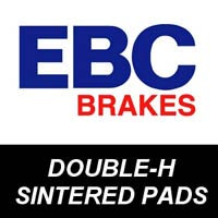 EBC Double-H Sintered Brake Pads for Motorcycles