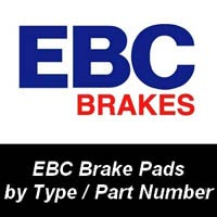 EBC Brake Pads by Type