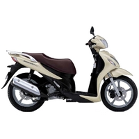 Review of Suzuki SIXteen 125 (UX125) K8: pictures, live